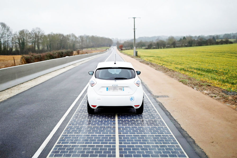 energia solar en carreteras