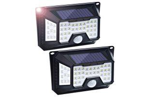 iluminacion solar luces solares jardin
