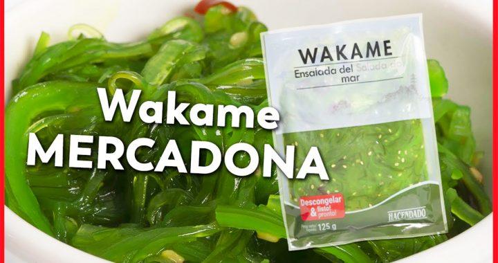 alga wakame mercadona