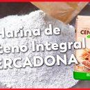 Harina de Centeno Integral de Mercadona para hacer Pan Artesanal