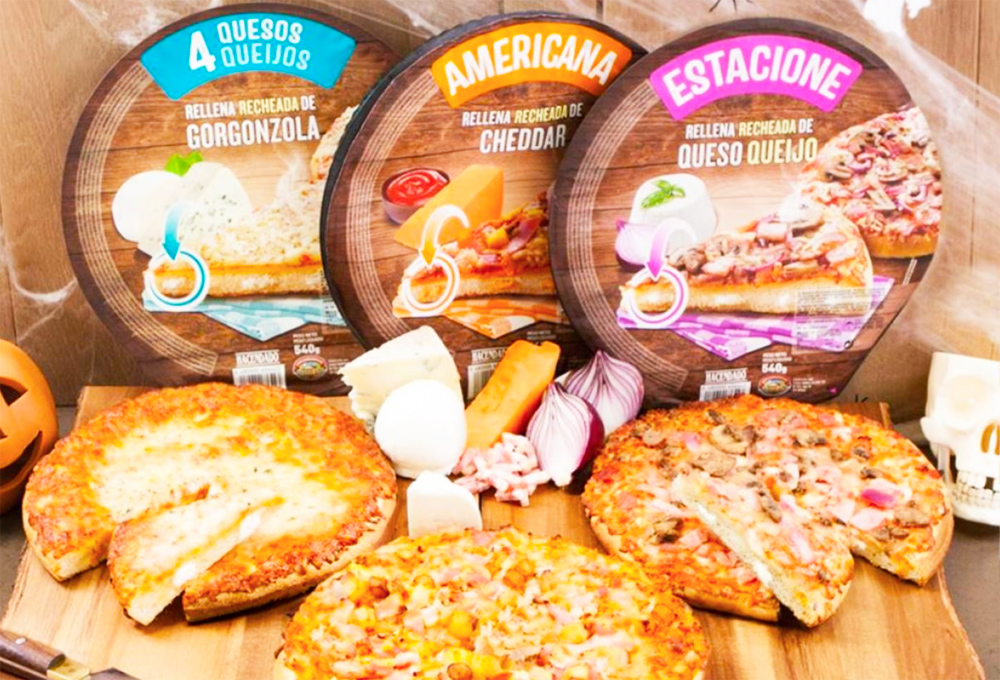 Pizzas Rellanas queso Mercadona Pizza Americana Pizza 4 Quesos Pizza Estacione