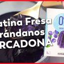 Gelatina 0 de Arándanos sin azúzar con 1 kcal de Mercadona