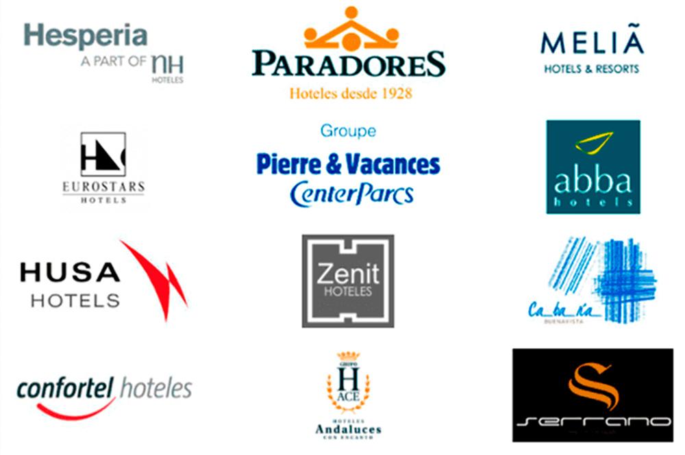 marcas cadenas hoteleras espana