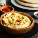Receta de Hummus con Salsa Tahini de Mercadona