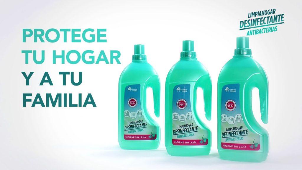 Limpiahogar Desinfectante Antibacterias de Mercadona