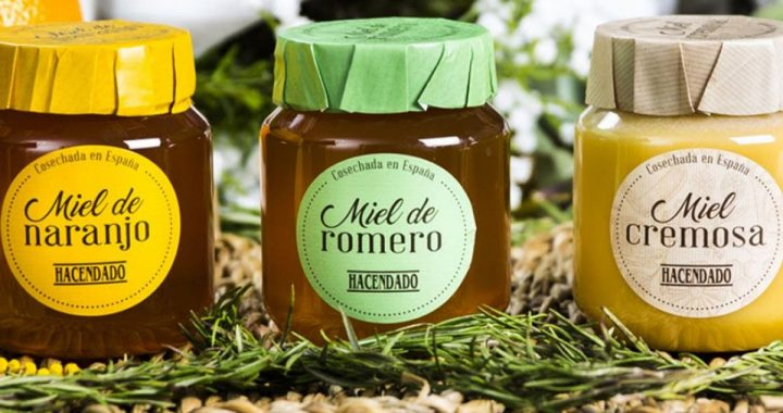 Mercadona Miel Cremosa Miel de Romero Miel de Naranjo