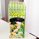 Crema de Soja de Mercadona ideal para cocinar