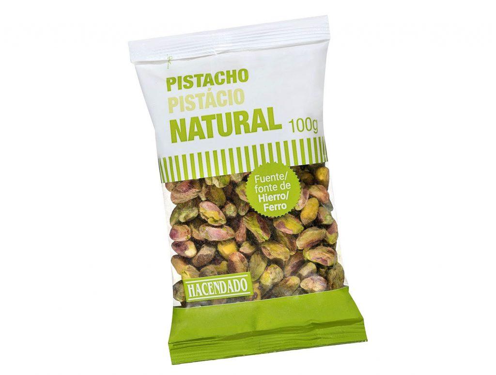 Pistachos Pelados Natural de Mercadona